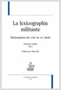 la lexicographie militante